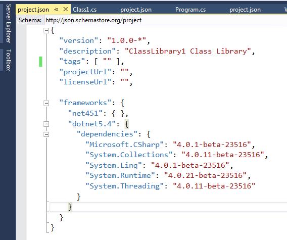 dotnet 5.4 framework