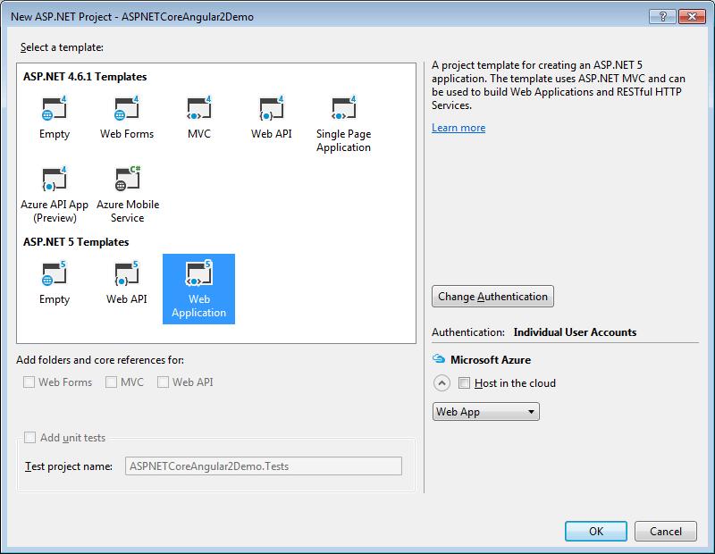 Cascading DropDown List with ASP.NET Core WEB API and Angular 2