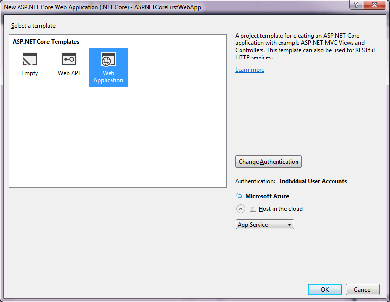 Visual Studio 2015 RC2 Templates -3