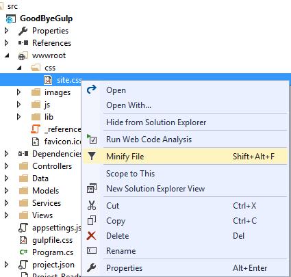 BundleMinifier-Minify CSS