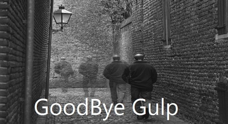 Gulp is no longer default choice for ASP.NET Core