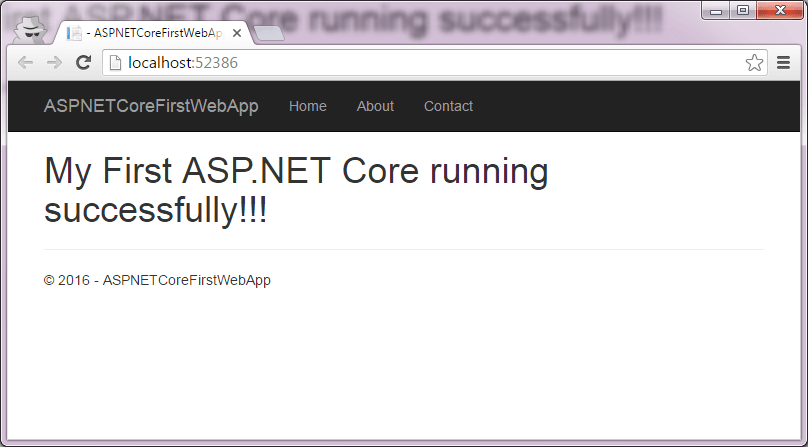 ASP.NET Core app running-in-browser