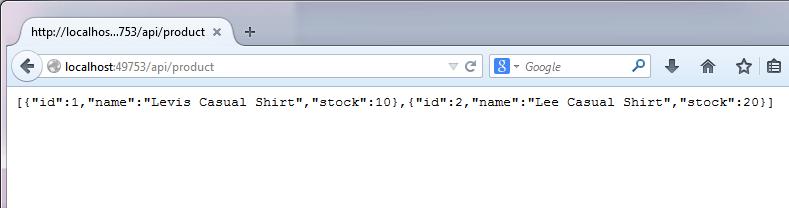 EFCore InMemory Provider API Sample - 3