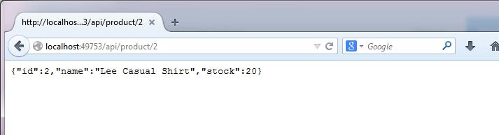 EFCore InMemory Provider API Sample - 4