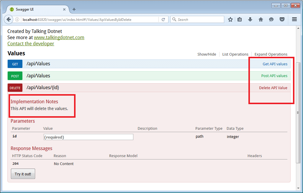 Add Swagger to ASP NET Core Web API