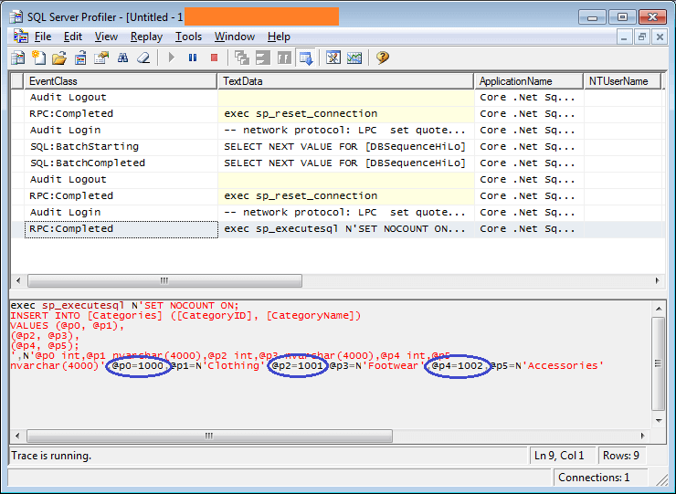 efcore-hilo-sequence-sql-query-trace-1