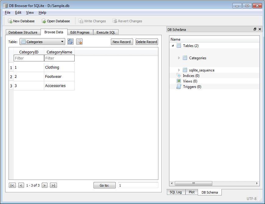 SQLiteDB with EntityFramework Core