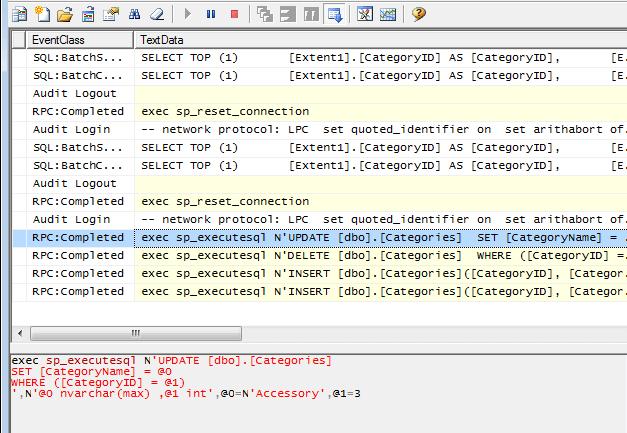 Entity Framework 6 Insert, Update, Delete Query
