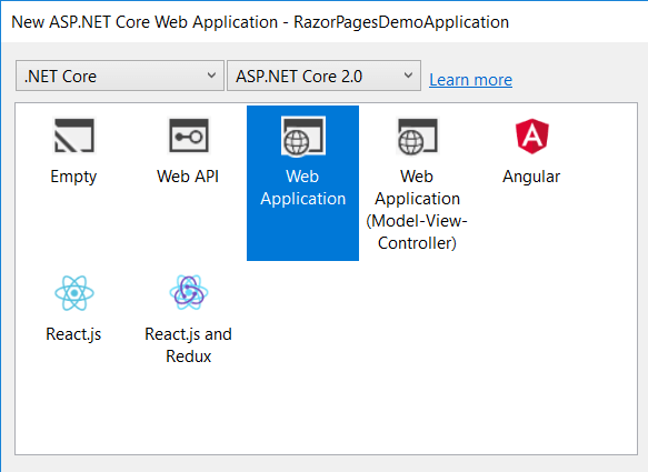 Import and Export excel in ASP NET Core 2 0 Razor Pages