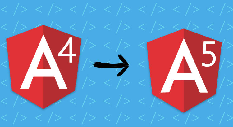 Upgrade Angular 4 app to Angular 5 with Visual Studio 2017