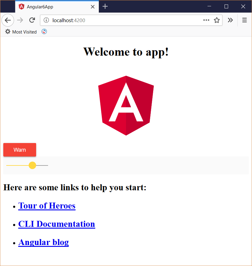 Add Angular 6 Material to Angular 6 and ASP NET Core app
