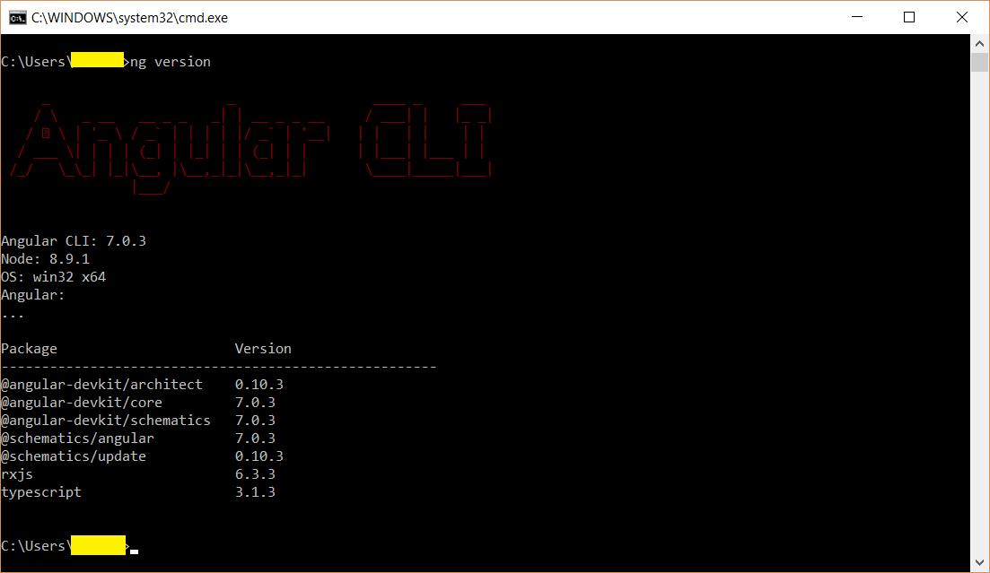 Update Angular CLI to latest version