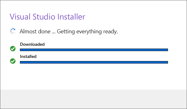 Installing Visual Studio 2019 Preview