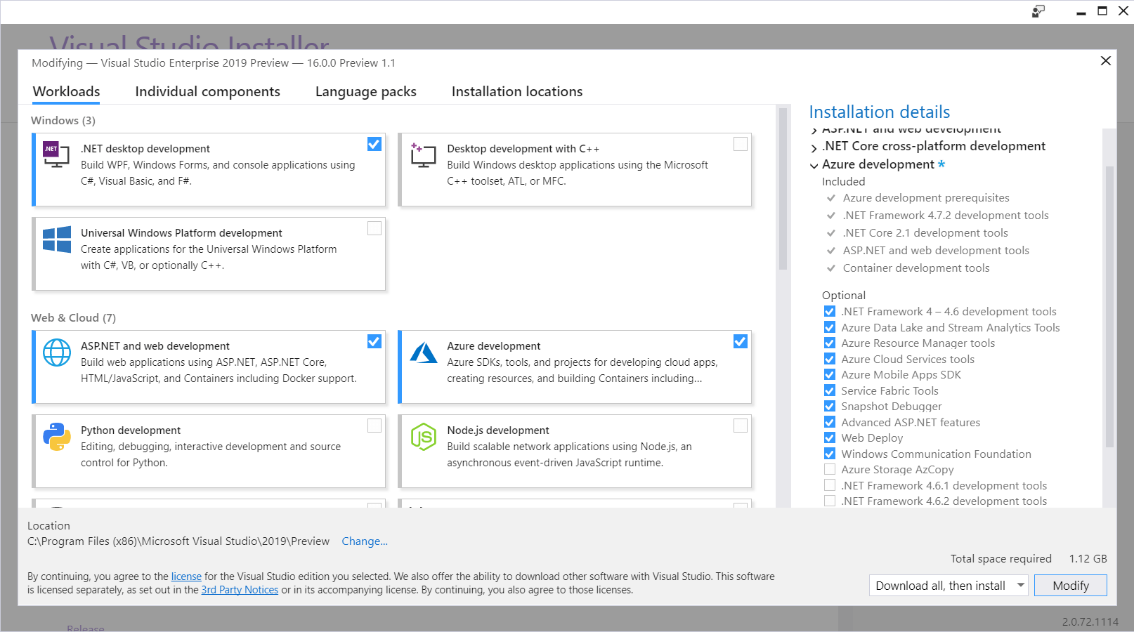 Creating First ASP NET Core 3 0 App with Visual Studio 2019 Preview